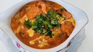 Butter Chicken Recipe, Butter Chicken From Scratch, Homemade Butter Chicken بتر چکن