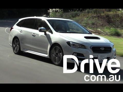2016 Subaru Levorg First Drive Review Drive