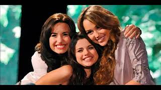 We can't stop being one and the same (mashup) - demi lovato & selena gomez miley cyrus