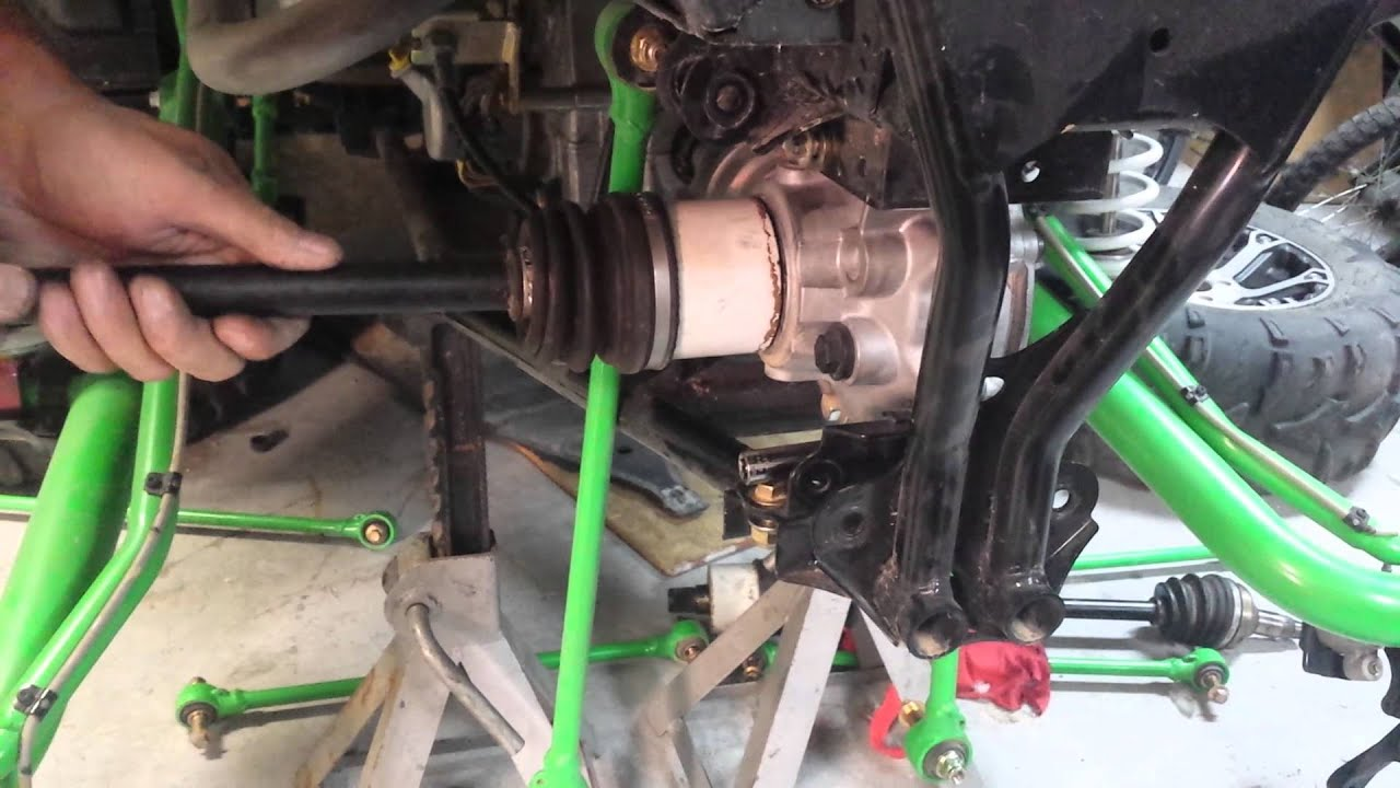 Arctic Cat  Rear Axle Replacement