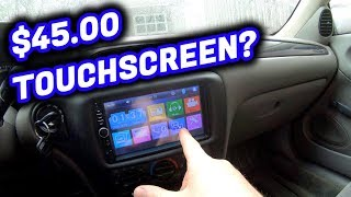 I Bought the Cheapest Touch Screen Stereo on Amazon! | Malibu Episode 3