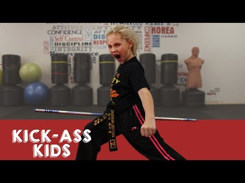 9-Year-Old Ninja Is 4-Time World Champion   KICK-ASS KIDS