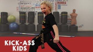 9-Year-Old Ninja Is 4-Time World Champion | KICK-ASS KIDS