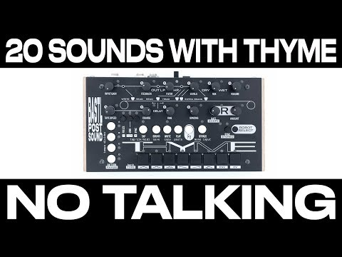THYME - 20 SOUNDS - NO TALKING