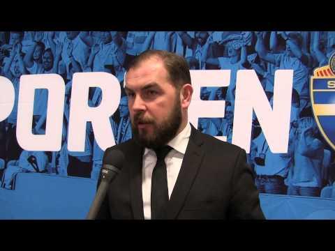 Alexander Axén inför Allsvenskan 2015 (SvenskaFans.com)