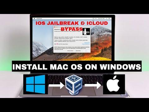 How to install mac os on windows pc | Install mac os in virtualbox | checkra1n windows | justatech