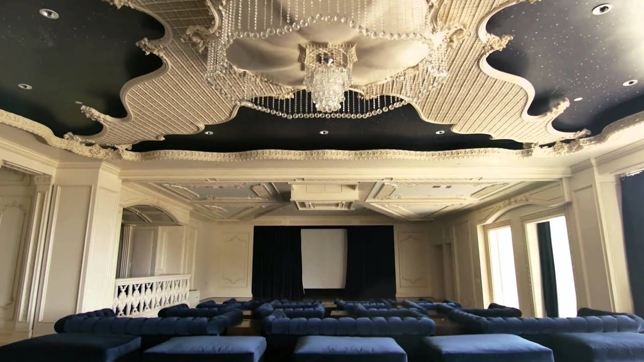 World most expensive house theatre designs
