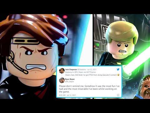 LEGO Star Wars The Skywalker Saga Developer's Tweet... |