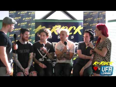 K-Rock Interviews Fall Out Boy Soundwave Melbourne 2015