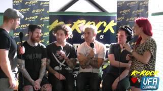 K Rock Interviews Fall Out Boy Soundwave Melbourne 2015