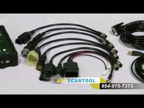API 4000 Scan Tool - YouTube