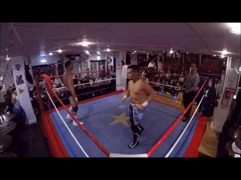Phoenix Wrestling - Eastchurch 24/10/17 - Darrell Allen Vs JJ Lynch
