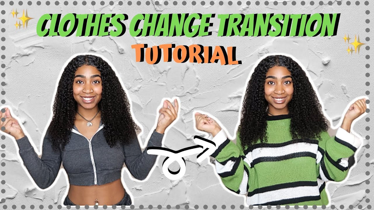 Jump Snap Clothes Change Transition For Tik Tok Youtube Easy Video Transitions Tutorial Youtube