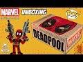 Abrindo A Caixa Surpresa Funko POP Do Deadpool Unboxing Marvel Collector Corps mp3