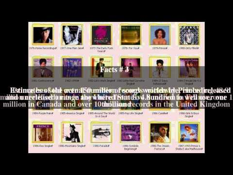 Prince discography Top # 7 Facts