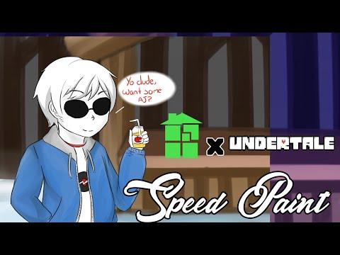 【Homestuck X Undertale】 Dave Strider【SpeedPaint】