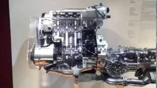 Двигатель AAN в музее Audi. Работа двигателя Audi  S4 2.2 Turbo