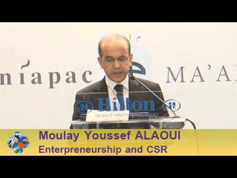 Beirut Conference 2013 - Moulay Youssef ALAOUI: Enterpreneurship and Corporate Social Responsibility