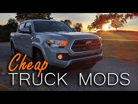 How to MOD your Toyota Tacoma