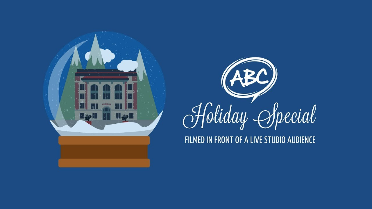 abc creative group holiday video card 2017 the abc holiday special