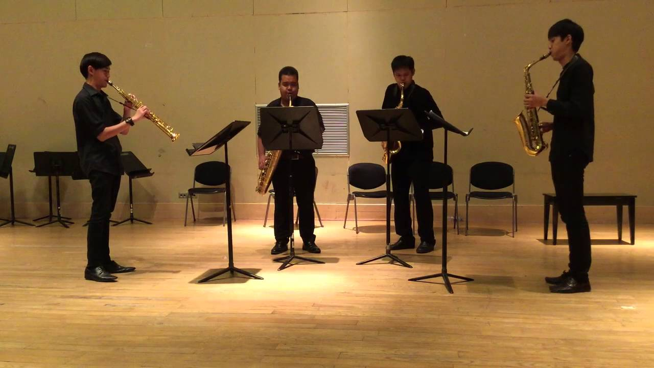 Songs for Tony by Michael Nyman [Nong Phai Saxophone Quartet]