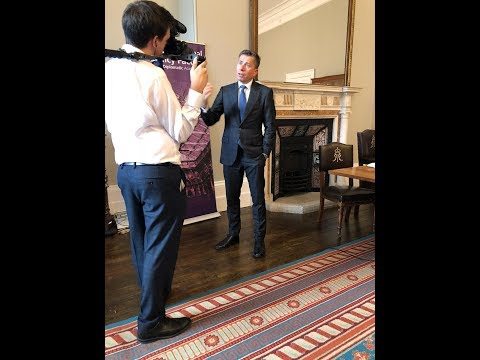 Tom speaking about tech at the Foreign and Commonwealth Office - 8 Oct 2018