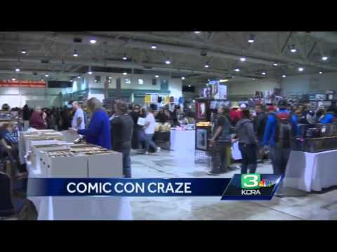 Comic fans dress up for Sacramento Comic Con
