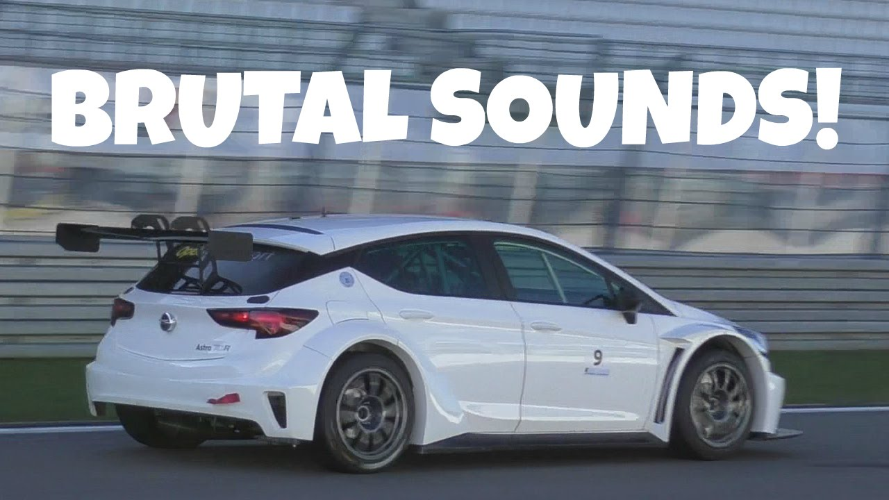 400+hp opel astra tcr testing on nürburgring! - youtube