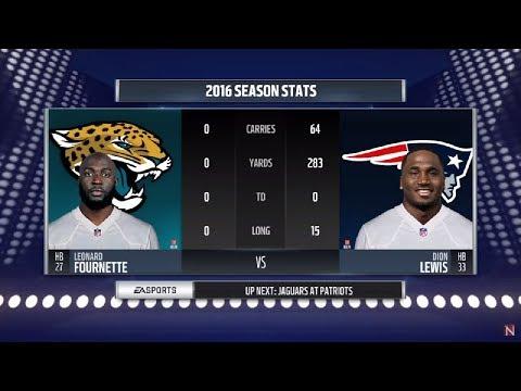 Madden 18 - AFC Championship - Jacksonville Jaguars vs New England Patriots - Full Game