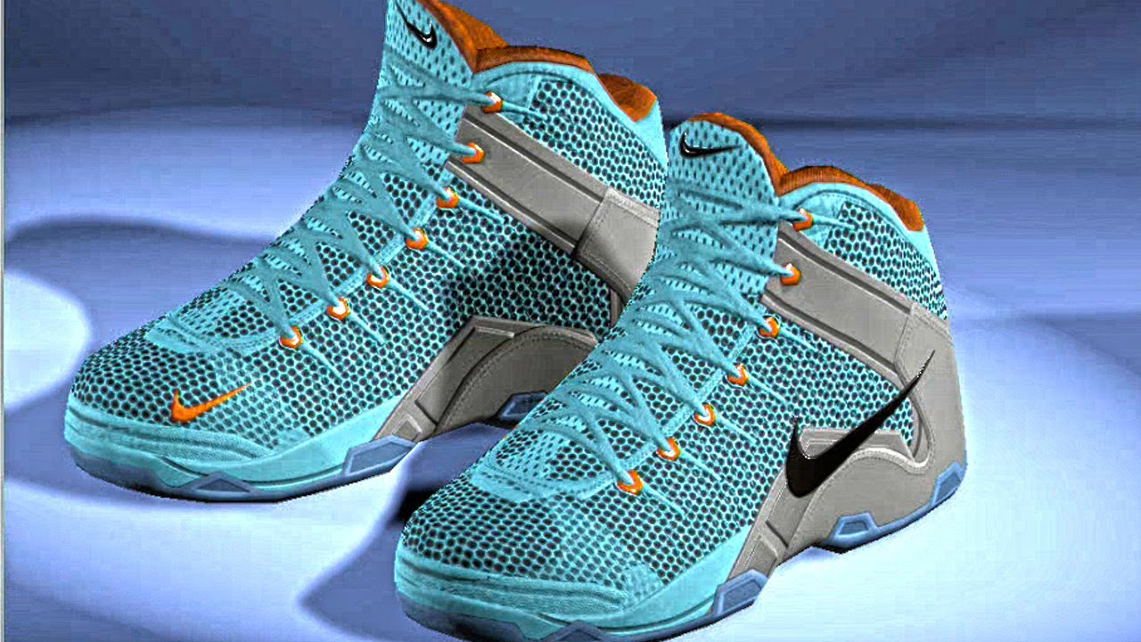 quality design 31952 46f98 How To Make The Lebron 12 In NBA 2k14