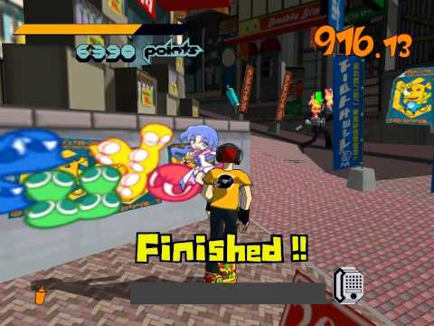 Jet Set Radio HD Speedrun(39:34)