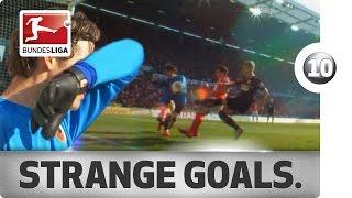 Top 10 Strange Goals - 2013/14 Season