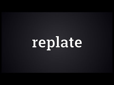 Header of Replate