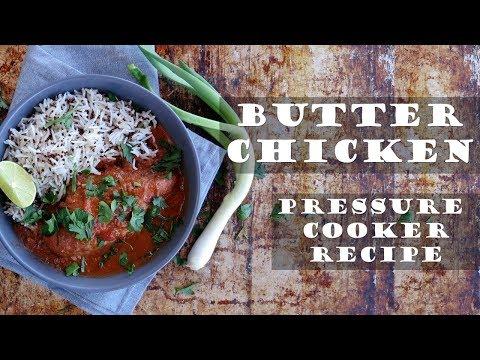 Easy Butter Chicken Instant Pot (Pressure Cooker) Recipe