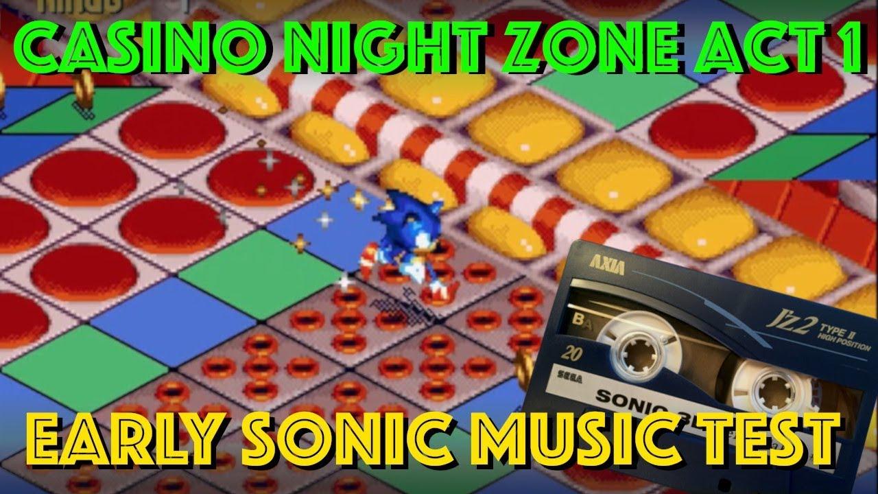 Sonic casino zone music e games slot machine
