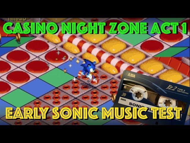 Revealed! - Never Heard Sonic 3D Casino Night Zone Music Demo