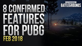 8 Confirmed Features For PUBG (FEB 2018) thumbnail