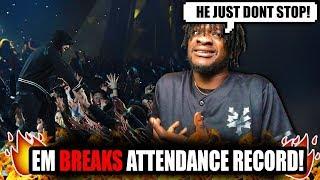 Eminem Shatters Attendance Record!