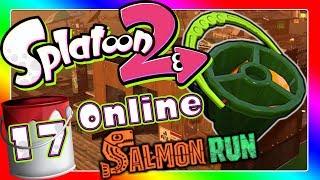 3-R Schwapper & neue Salmon Run Map Siedlungsruine 🎨 SPLATOON 2 ONLINE Part 17