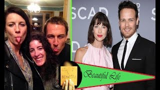 Caitriona Balfe holds a bachelor party with her sisters before marrying Sam Heughan