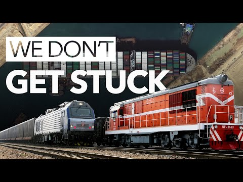 SUEZ BLOKAGE FOLLOW-UP丨CHINA-EUROPE FREIGHT TRAINS DON'T GET STUCK