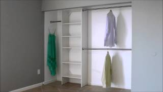 What Is The Standard Double Closet Rod Height?