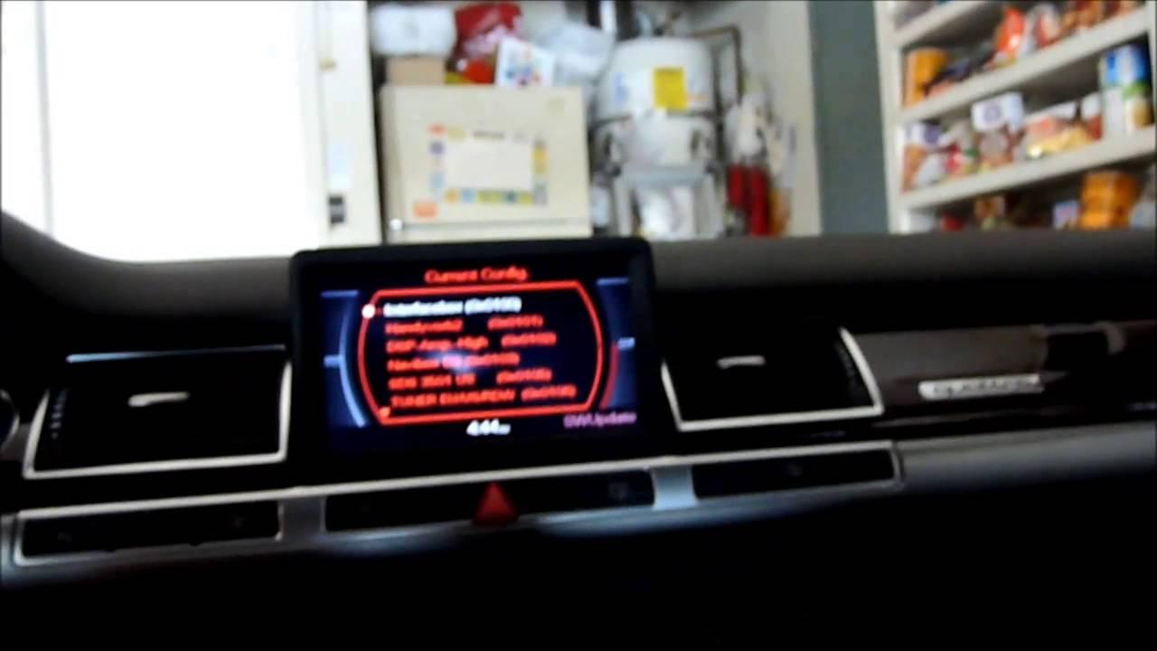 How To Enable MMI 2G Hidden Menu Using VCDS – Audi