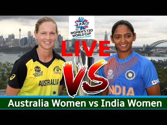 Australia Women vs India Women, 1st Match, T20 World Cup  - Live Cricket Score, Commentary LIVE