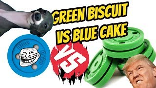 Битва Шайб/ Green Biscuit VS Blue Cake