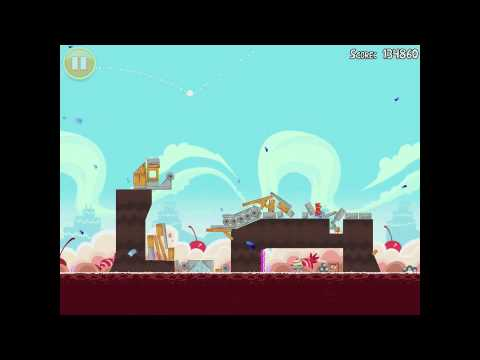 Angry Birds Birdday Party 1815 Walkthrough 3 Star Birthday Party