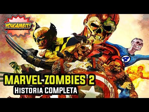 "VIDEOCOMIC: MARVEL ZOMBIES 2 ""CIVIL WAR ""- Historia Completa"