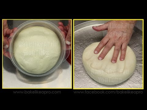 NO FAIL EASY PIZZA DOUGH RECIPE