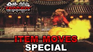 Tekken Tag Tournament 2 - PS3 / X360 - Item moves special trailer!