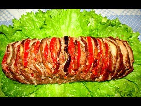Вкусно - #Мясо Запеченное в Духовке Мясная Книжка #СвининаГАРМОШКА Рецепты.